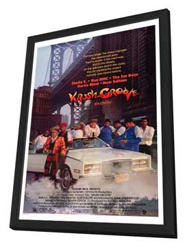 Krush Groove - 11 x 17 Movie Poster - Style A - in Deluxe Wood Frame