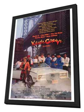 Krush Groove - 27 x 40 Movie Poster - Style A - in Deluxe Wood Frame