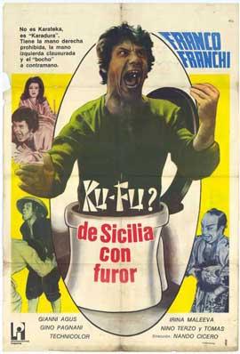 Ku Fu? Dalla Sicilia con furore - 27 x 40 Movie Poster - Foreign - Style A