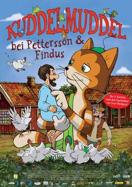 Kuddelmuddel bei Pettersson & Findus - 11 x 17 Movie Poster - German Style A