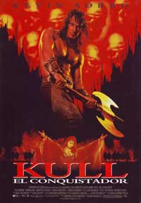 Kull the Conquerer - 27 x 40 Movie Poster - Spanish Style A