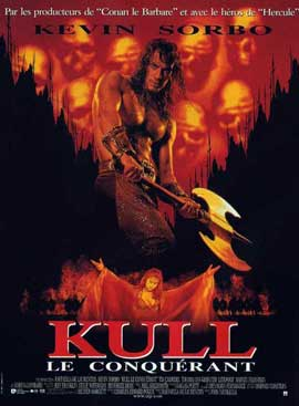Kull the Conqueror - 11 x 17 Movie Poster - French Style A