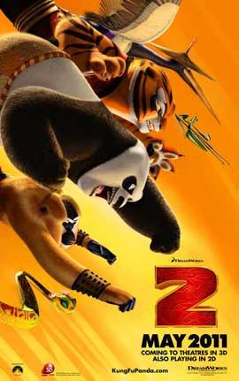 Kung Fu Panda 2 - 27 x 40 Movie Poster - Style B