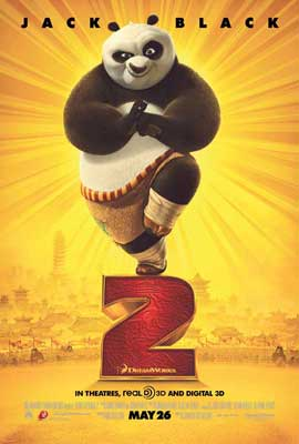 Kung Fu Panda 2 - 27 x 40 Movie Poster - Style F