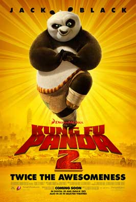 Kung Fu Panda 2 - 11 x 17 Movie Poster - Style F