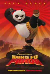 Kung Fu Panda - 43 x 62 Movie Poster - Bus Shelter Style B
