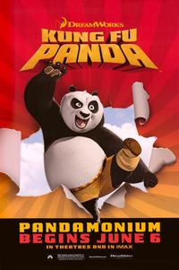Kung Fu Panda - 43 x 62 Movie Poster - Bus Shelter Style D