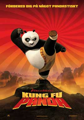 Kung Fu Panda - 27 x 40 Movie Poster - Swedish Style A
