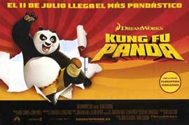Kung Fu Panda - 27 x 40 Movie Poster - Spanish Style A