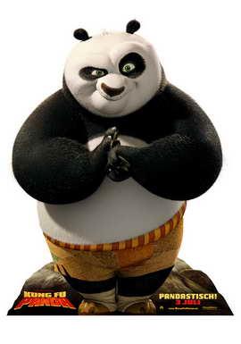 Kung Fu Panda - 27 x 40 Movie Poster - German Style C