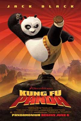 Kung Fu Panda - 11 x 17 Movie Poster - Style E