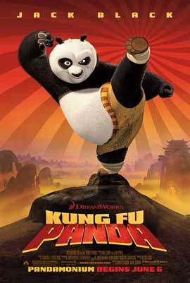 Kung Fu Panda - 27 x 40 Movie Poster
