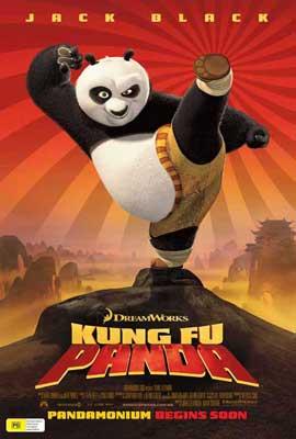 Kung Fu Panda - 27 x 40 Movie Poster - Australian Style A