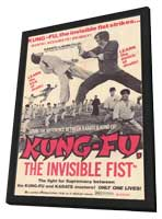 Kung Fu: The Invisible Fist - 11 x 17 Movie Poster - Style A - in Deluxe Wood Frame