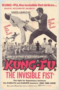 Kung Fu: The Invisible Fist - 43 x 62 Movie Poster - Bus Shelter Style A