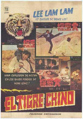 Kung Fu: The Punch of Death - 27 x 40 Movie Poster - Spanish Style A