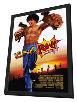 Kung-Pow: Enter the Fist - 11 x 17 Movie Poster - Style A - in Deluxe Wood Frame