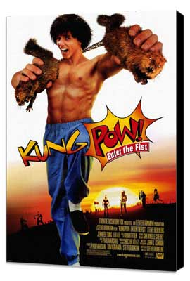 Kung-Pow: Enter the Fist - 27 x 40 Movie Poster - Style A - Museum Wrapped Canvas