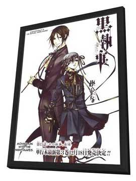 Kuroshitsuji: Phantom & Ghost - 11 x 17 Movie Poster - German Style A - in Deluxe Wood Frame