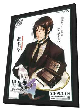 Kuroshitsuji: Phantom & Ghost - 27 x 40 Movie Poster - Japanese Style A - in Deluxe Wood Frame