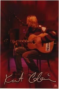 Kurt Cobain - Music Poster - 22 x 34 - Style C