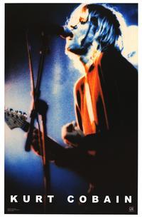 Kurt Cobain - Music Poster - 22 x 34 - Style D