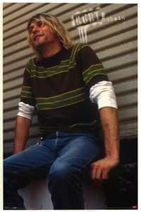 Kurt Cobain - Music Poster - 22 x 34 - Style A
