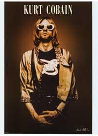 Kurt Cobain - Music Poster - 24 x 36 - Style E