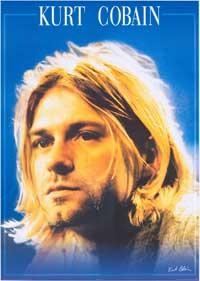Kurt Cobain - Music Poster - 24 x 34 - Style A