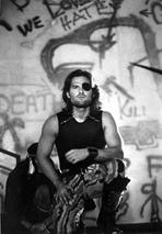 Kurt Russell - Kurt Russell in Black Tank topt With Eye Patch