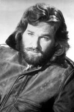 Kurt Russell - Kurt Russell Posed in Leather Jacket With White Background