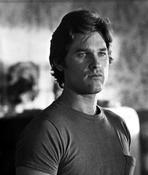 Kurt Russell - Kurt Russell in TShirt Black and White Portrait