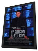 Kurt Vonnegut's Harrison Bergeron - 11 x 17 Movie Poster - Style A - in Deluxe Wood Frame