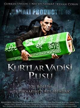 Kurtlar vadisi - Pusu - 27 x 40 TV Poster - Turkish Style A