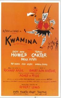 Kwamina (Broadway) - 11 x 17 Poster - Style A