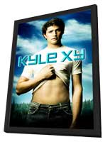 Kyle XY - 11 x 17 TV Poster - Style B - in Deluxe Wood Frame
