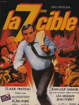 La 7eme cible - 11 x 17 Movie Poster - French Style A