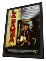 La Bamba - 27 x 40 Movie Poster - Style B - in Deluxe Wood Frame