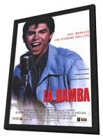 La Bamba - 11 x 17 Movie Poster - Style B - in Deluxe Wood Frame