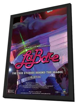 La Bare - 11 x 17 Movie Poster - Style A - in Deluxe Wood Frame