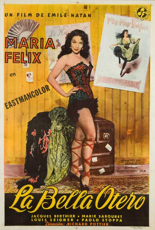La bella Otero movie