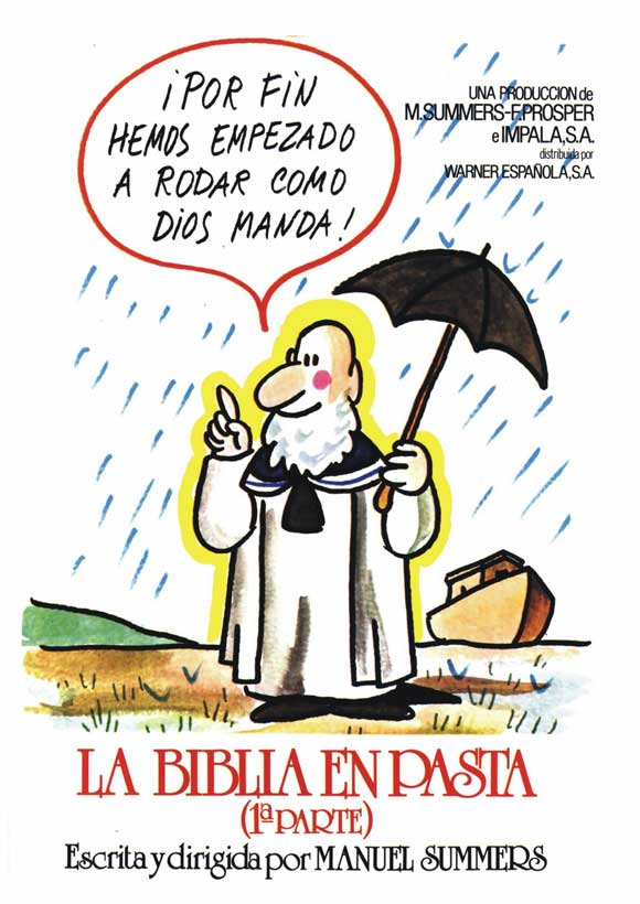 La biblia en pasta movie