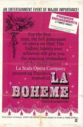 La Boheme - 11 x 17 Movie Poster - Style A