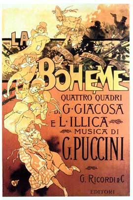 La Boheme - 11 x 17 Movie Poster - Italian Style A