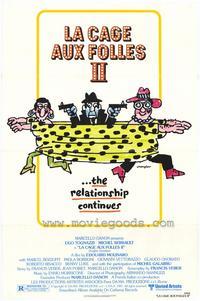La Cage aux Folles 2 - 27 x 40 Movie Poster - Style A