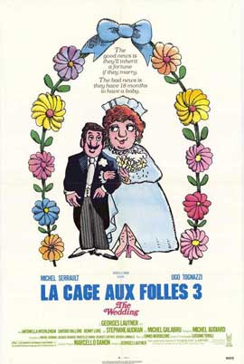 La Cage aux Folles 3: The Wedding - 11 x 17 Movie Poster - Style A