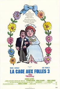 La Cage aux Folles 3: The Wedding - 27 x 40 Movie Poster - Style A