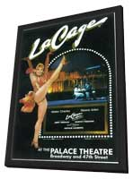 La Cage Aux Folles (Broadway) - 11 x 17 Poster - Style A - in Deluxe Wood Frame