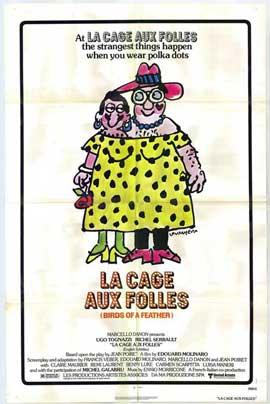 La Cage aux Folles - 11 x 17 Movie Poster - Style B