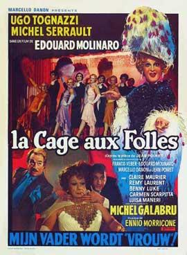 La Cage aux Folles - 27 x 40 Movie Poster - Belgian Style A